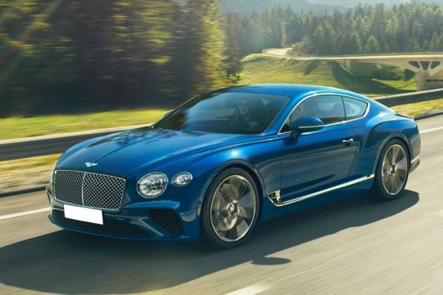 Bentley Continental (HT Auto photo)