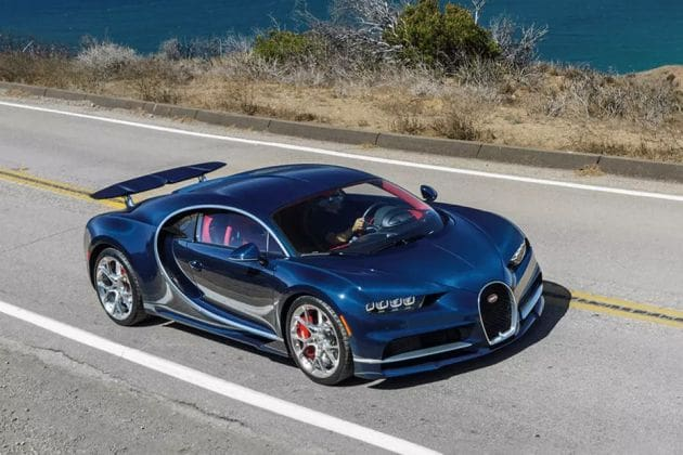 Bugatti Chiron (HT Auto photo)