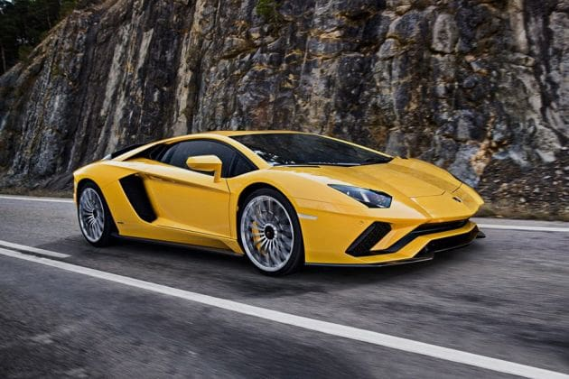 Lamborghini Aventador (HT Auto photo)