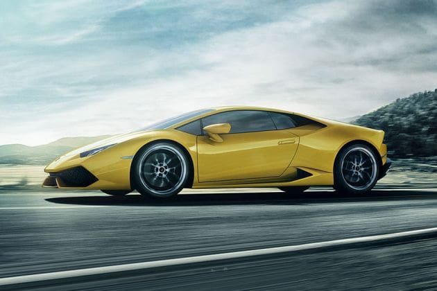 Lamborghini Huracan (HT Auto photo)
