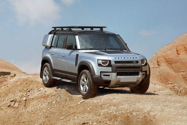 Land Rover Defender (HT Auto photo)