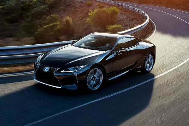 Lexus Lc-500h (HT Auto photo)