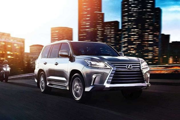 Lexus Lx (HT Auto photo)