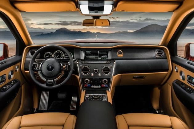 Rolls-royce Cullinan (HT Auto photo)