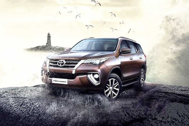 Toyota Fortuner (HT Auto photo)