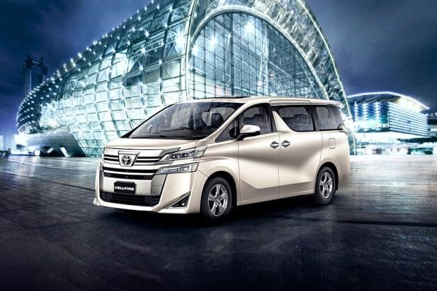 Toyota Vellfire (HT Auto photo)