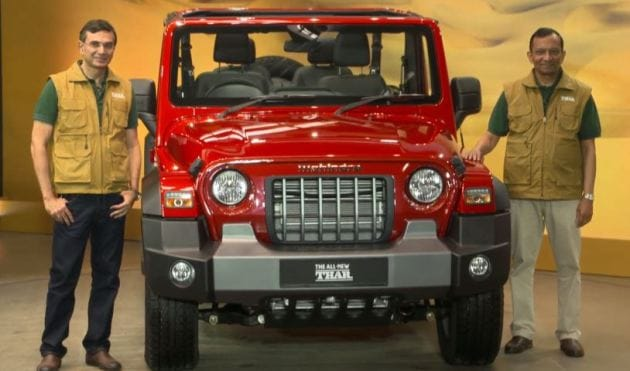 Mahindra Thar (HT Auto photo)