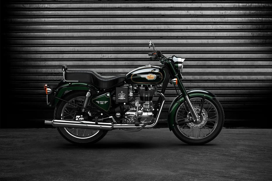 Royal Enfield Bullet 500 (HT Auto photo)
