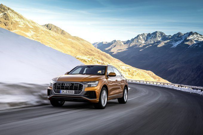 Audi Q8: Audi is all set to begin 2020 with a bang with the five-seater Q8. The coupe-like SUV sits on 22-inch wheels and combines power with performance seamlessly to justify the kind of price tag it would certainly get.
