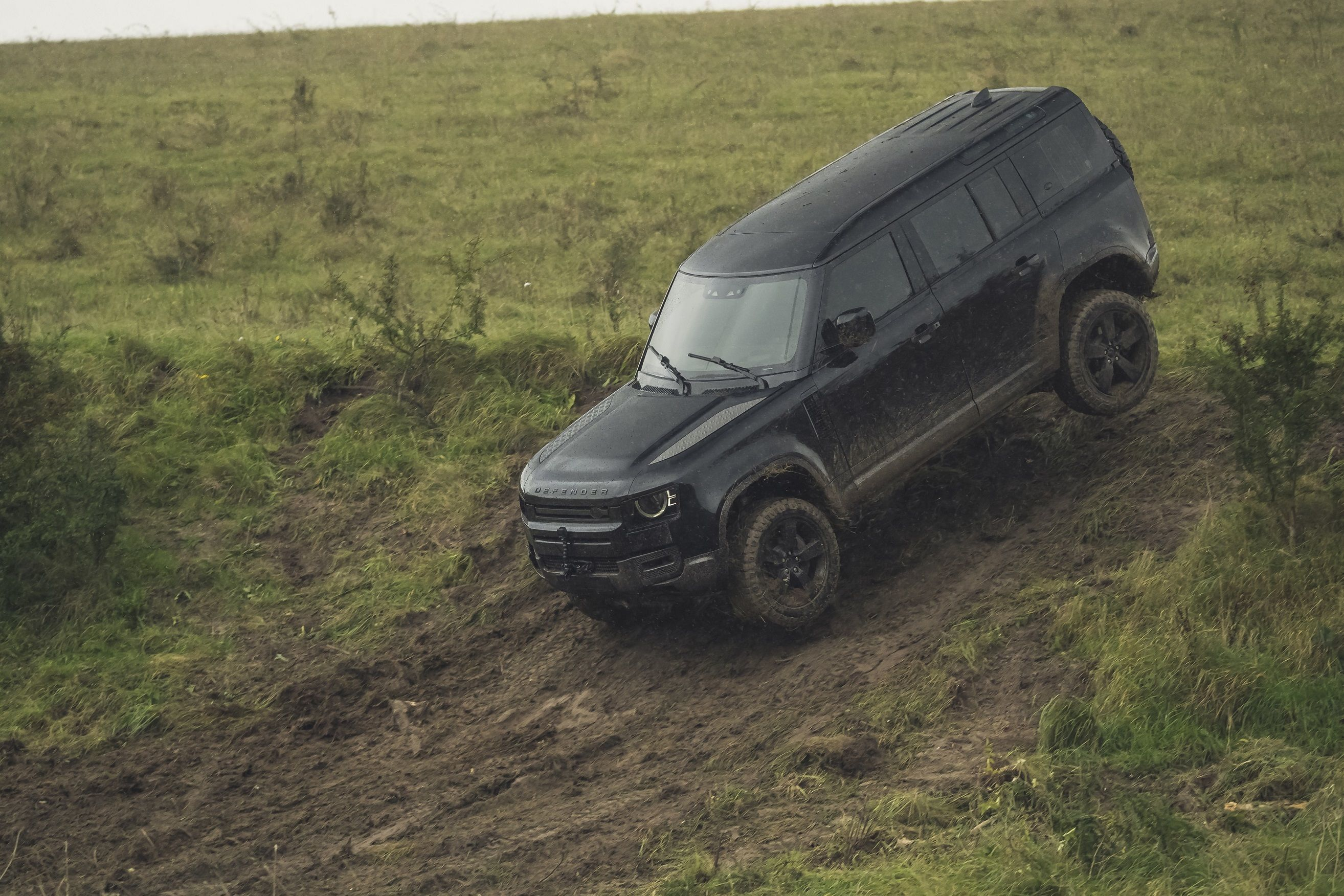 Land Rover is in partnership with EON Productions and recently shared shots from the filming of 'No Time to Die.' Stunt Directors say they were mightily impressed with the machine at hand.