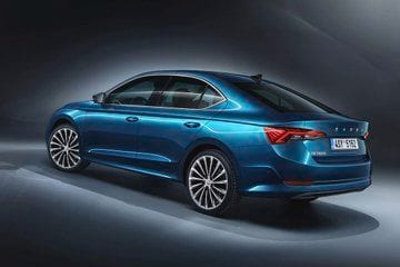 The sedan in its newest - fourth - generation is 19 mm longer and 15 mm wider that the outgoing version. These may not appear much on paper but the bump up in dimensions are obvious to the naked eye. (Photo: Twitter/SkodaAutoNews)