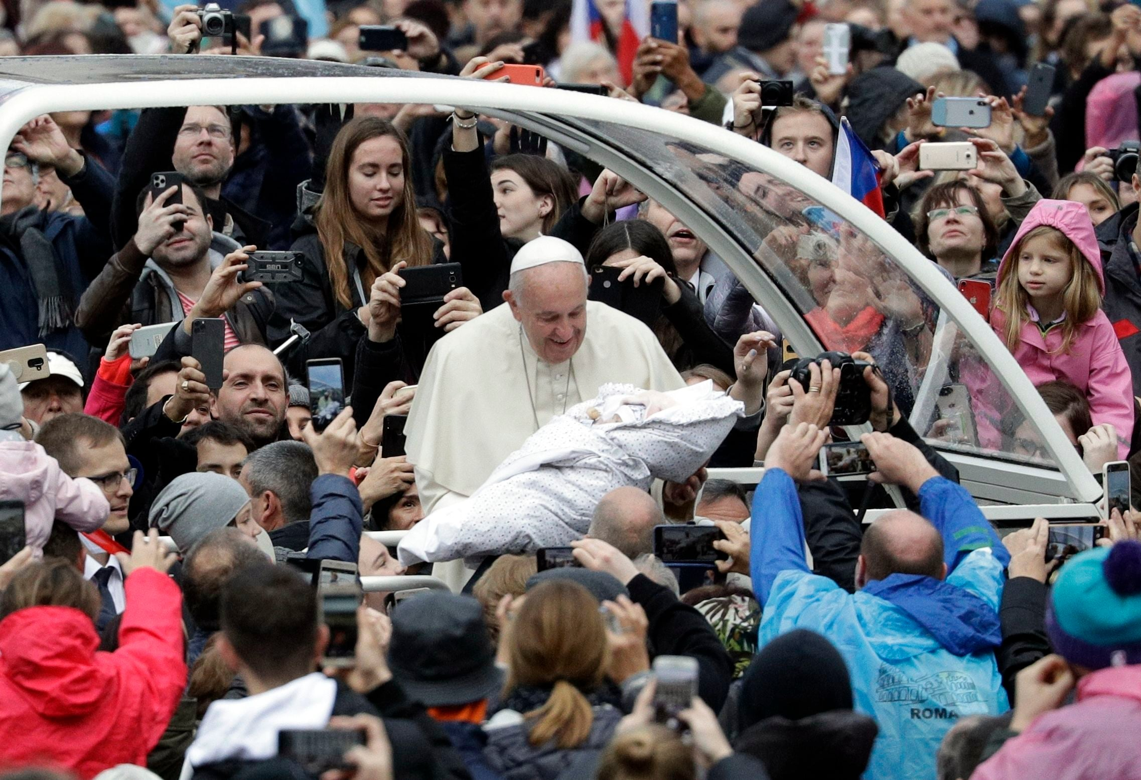 The Popemobile has been an integral part of how the Pope moves around - both at the Vatican and elsewhere as well. Times have seen the Popemobile go through massive changes. (AP Photo)