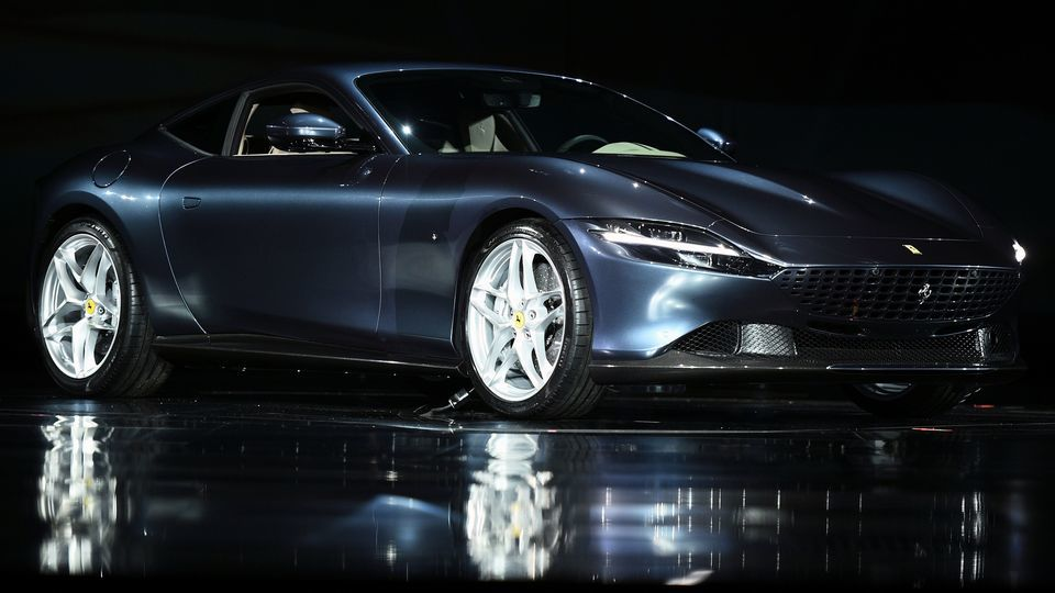 Ferrari recently unveiled its fifth new model of 2019 by introducing Roma, its easy-to-drive coupe sportscar. (Reuters Photo)