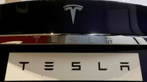 FILE PHOTO: A Tesla Model S vehicle is displayed at the Tesla store in Sydney, Australia. (Reuters)