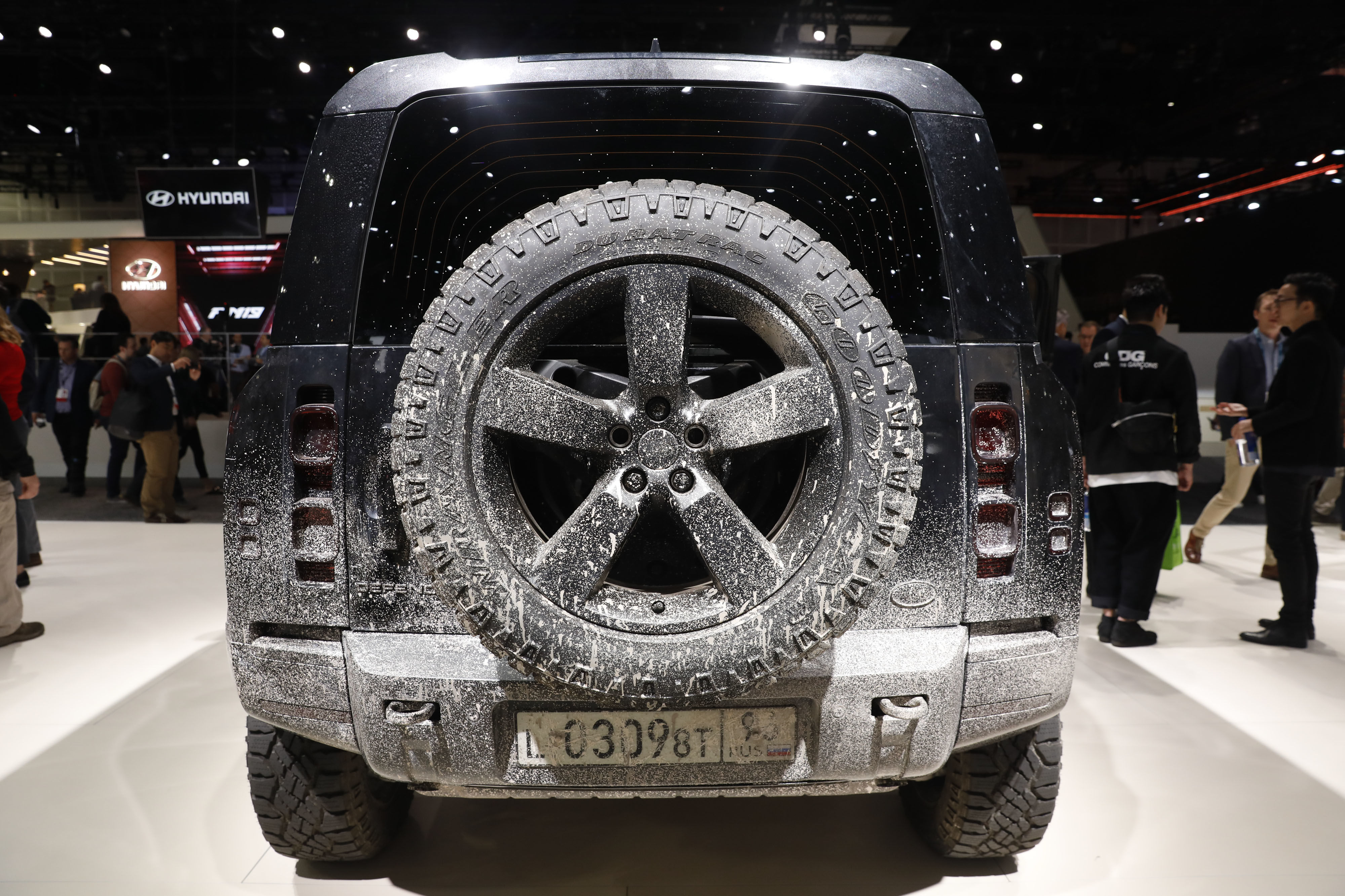 Known for its off-roading abilities, JLR says the Defender will come with as many as 170 optional accessories for customisation purposes. (Bloomberg)