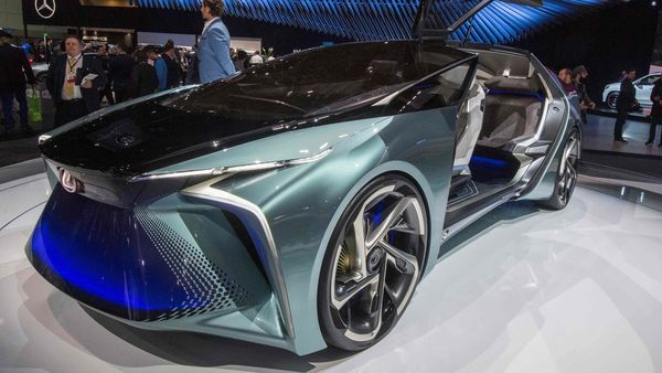 Lexusis developing new advanced posture control and other electrification technologies to further evolve driving pleasure. (AFP)