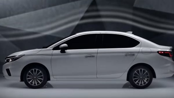 The 2020 City gets a new design language that inherits certain elements from the outgoing model and blending it with what one has already seen in some of the other Honda cars. Photo courtesy: Youtube/Honda Thailand