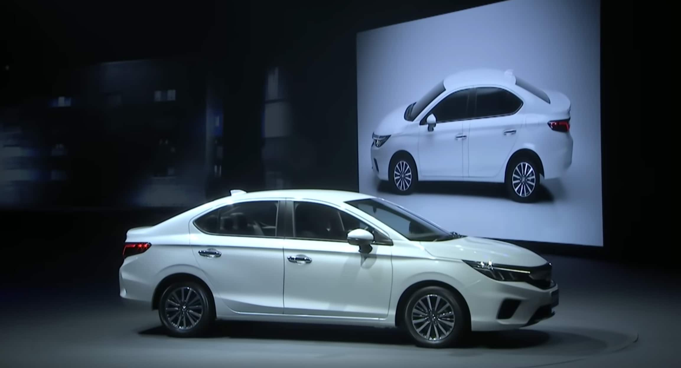 The 2020 City is expected to hit Indian shores by mid 2020.It will lock horns with Ciaz from Maruti Suzuki, Verna from Hyundai and Volkswagen's Vento. Photo courtesy: Youtube/Honda Thailand