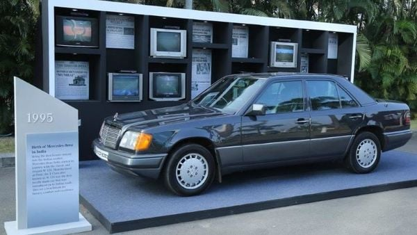 W124, the first Mercedes that rolled out of the MB plant in India.