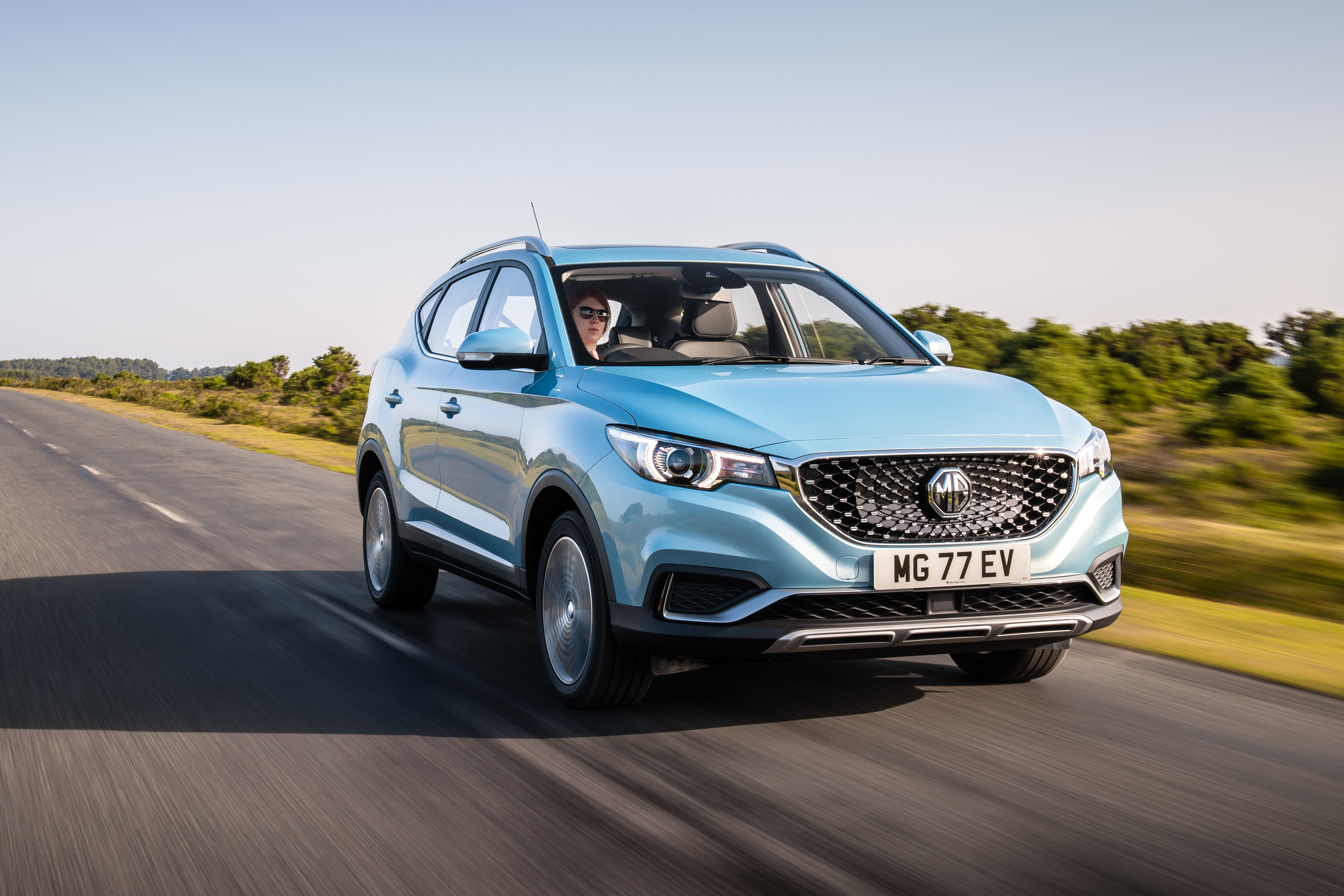 Its all-electric motor is capable of generating 148bhp of power. (Photo courtesy: mg.co.uk)
