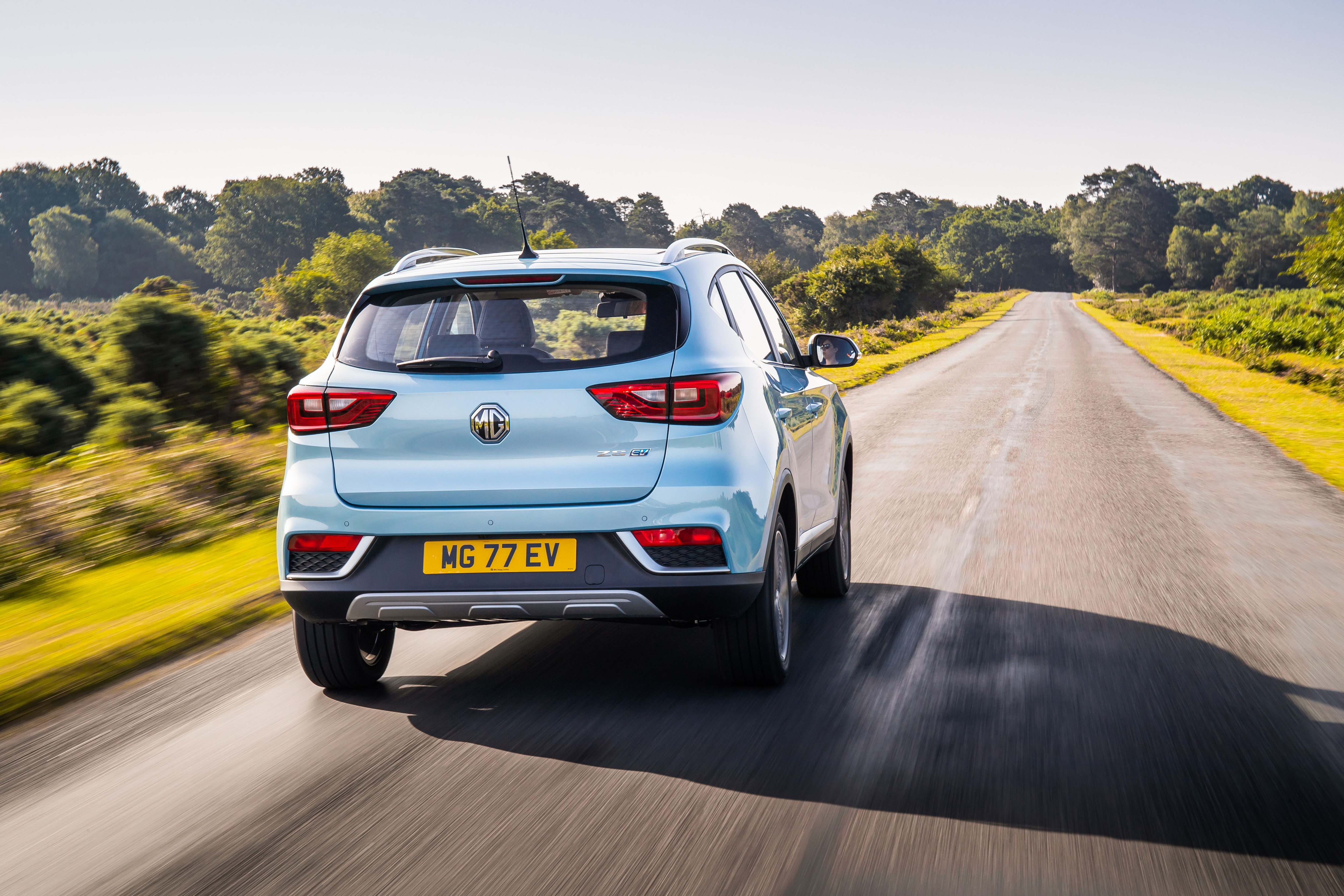 The 45.2 kWh battery can give the SUV a stated range of 428 kms, around 30 kms less than its rival Kona. (Photo courtesy: mg.co.uk)