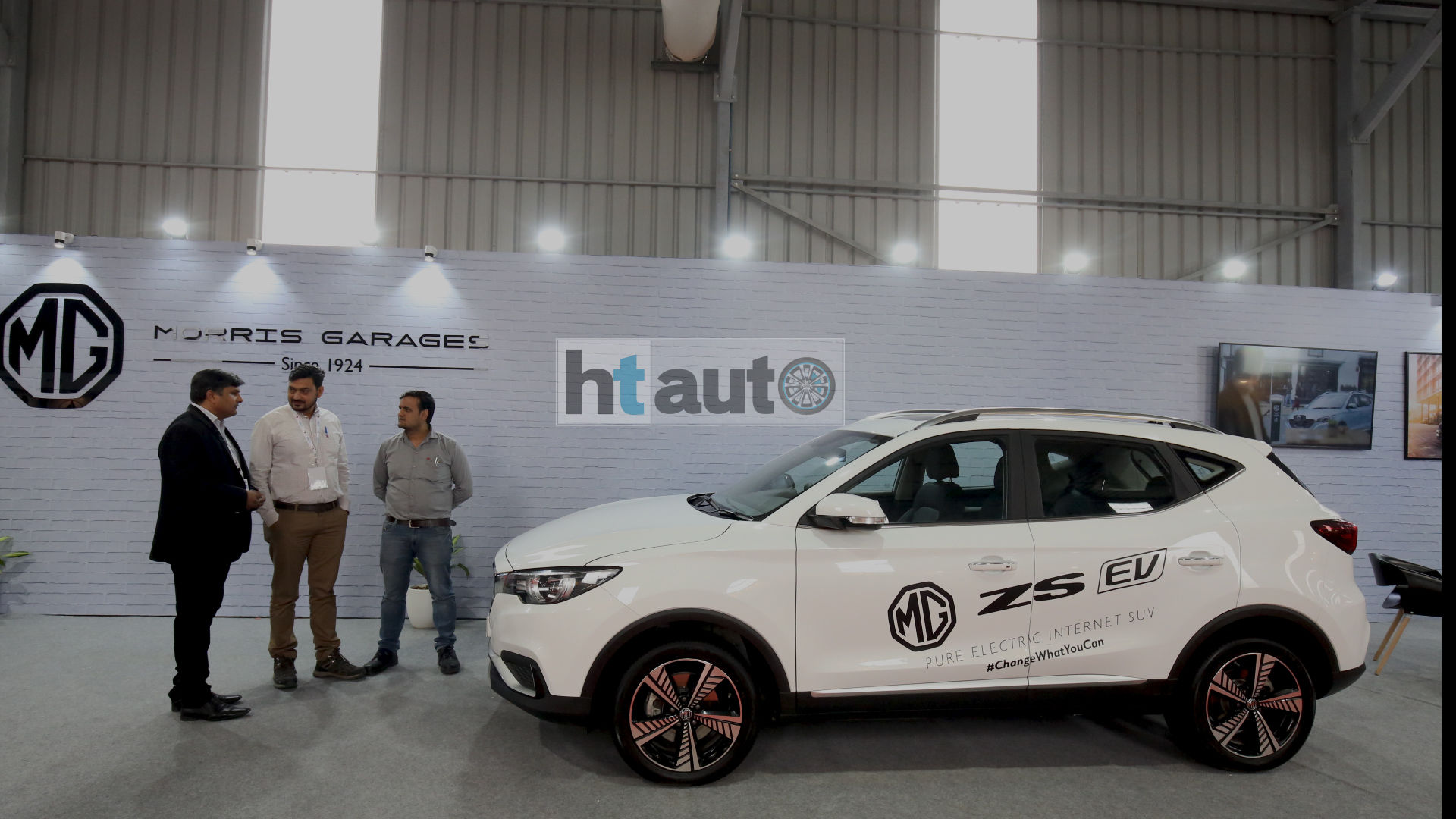 MG Motor will officially launch the electric SUV in India on December 5.