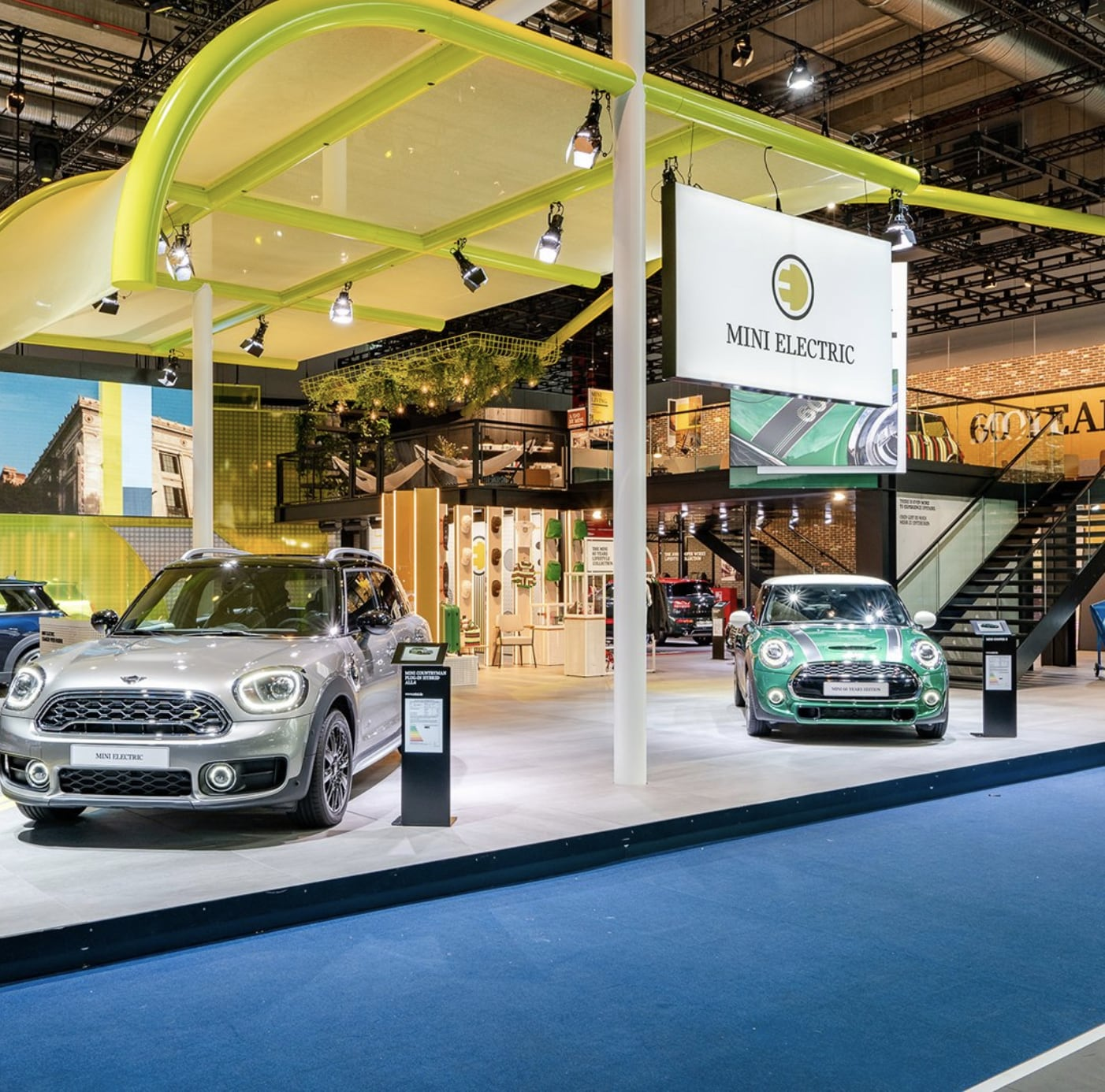 The electric MINI will come in three versions with a range of up to 233 kms in single charge. (Photo courtesy: @MINI)
