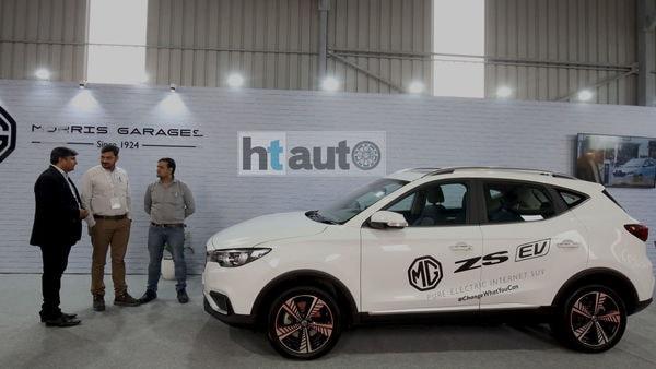 The ZS EV will take on Hyundai Kona. (HT Auto)
