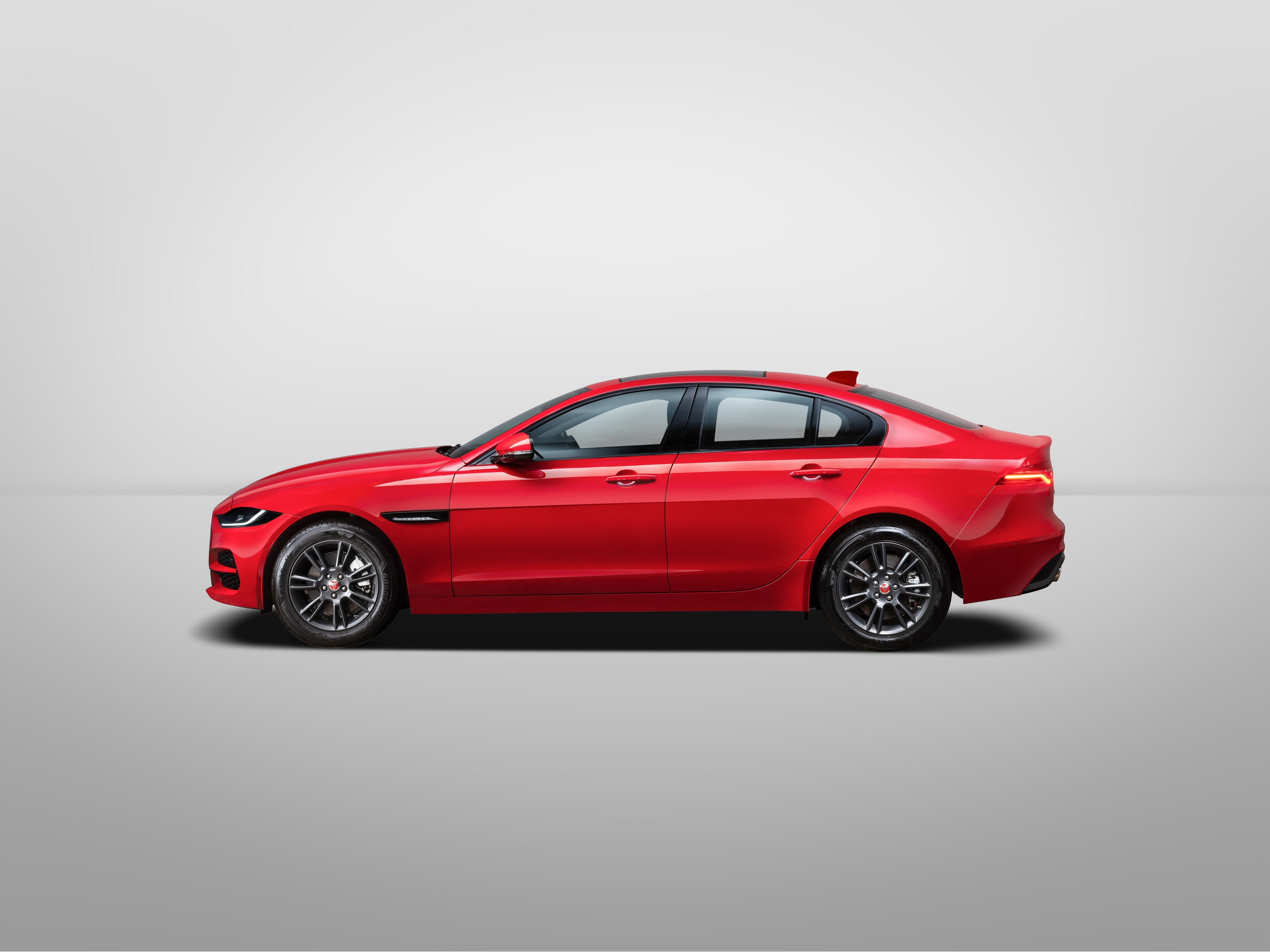 The XE was always a looker but in its latest version, appears even more so.