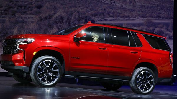 Chevrolet unveils the 2021 Tahoe SUV. (AFP)