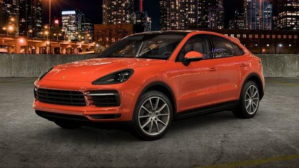 Porsche Cayenne Coupe. (Photo courtesy: Porsche)