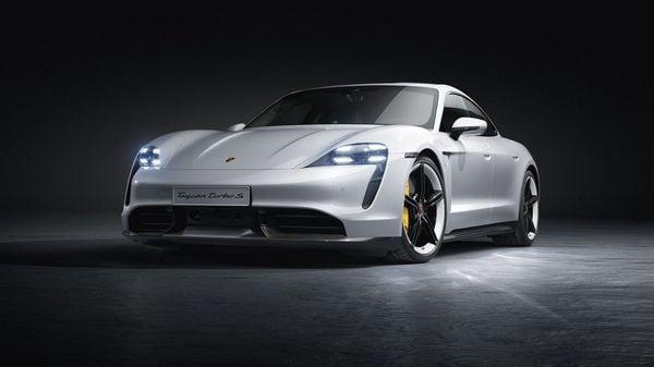 2020 Porsche Taycan Turbo S (Photo Courtesy: Twitter/@Porsche)