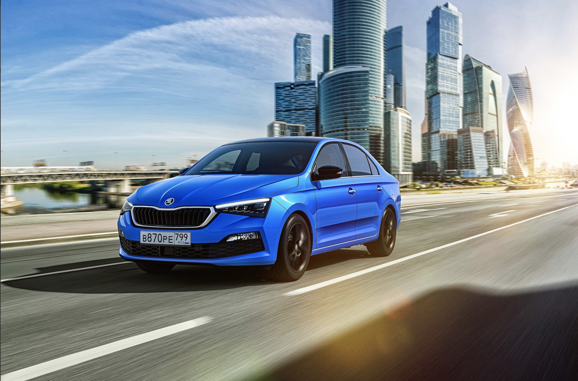 The car is priced at 829,000 rubles ( <span class='webrupee'>₹</span>9.25 lakh) and is expected to go on sale in Russia by March 2020