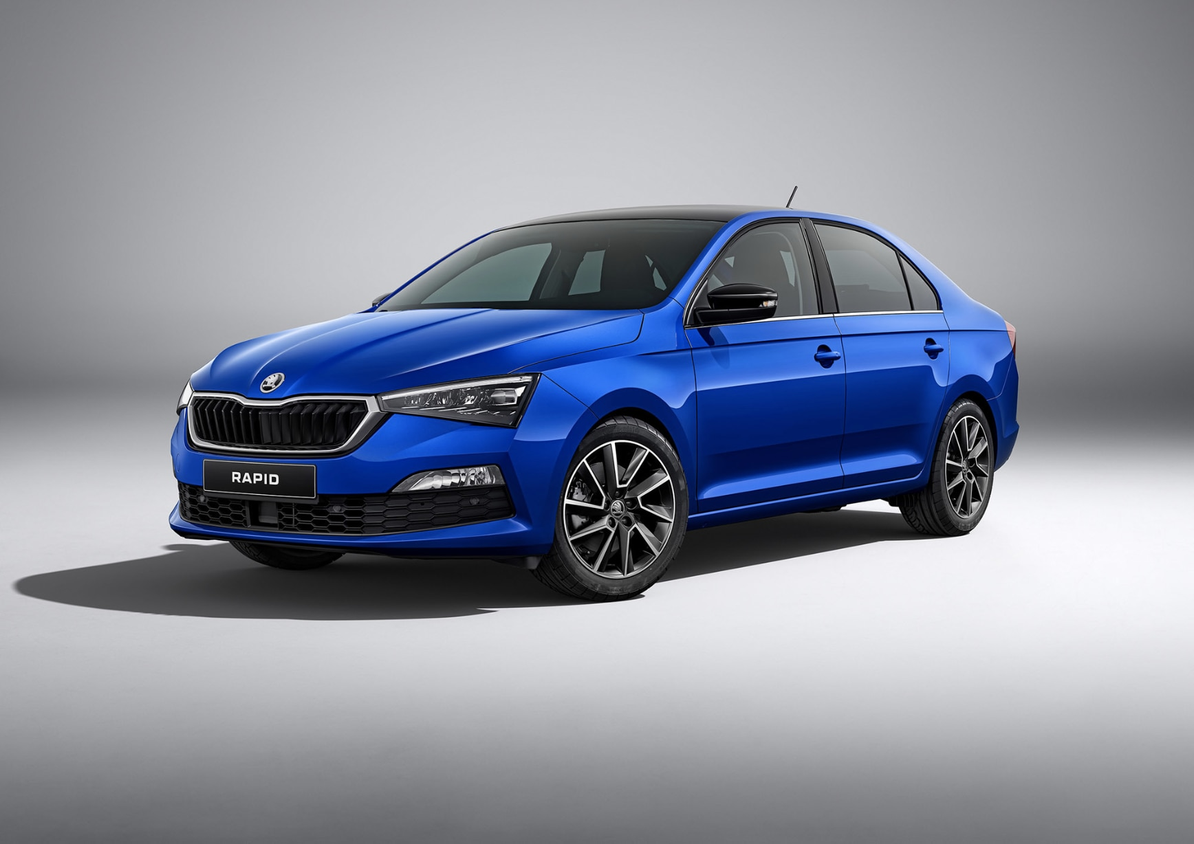The new Skoda Rapid will come with two engine variants - a 1.6-litre petrol and a 1.4-litre turbocharged petrol engine