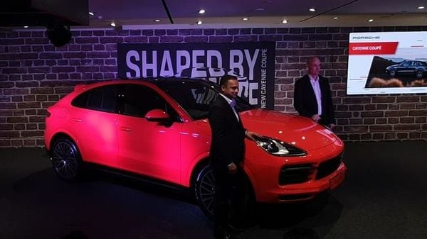 Porsche launches Cayenne Coupe in India.