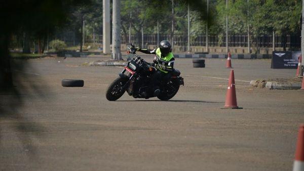 Harley-Davidson training session in Mumbai.