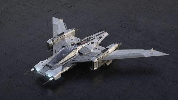 Tri-Wing S-91x Pegasus Starfighter (Photo courtesy: newsroom.porsche.com)