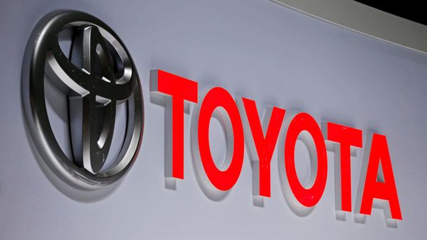 FILE PHOTO: A Toyota logo is displayed at the 89th Geneva International Motor Show in Geneva, Switzerland March 5, 2019. REUTERS/Pierre Albouy/File Photo (REUTERS)