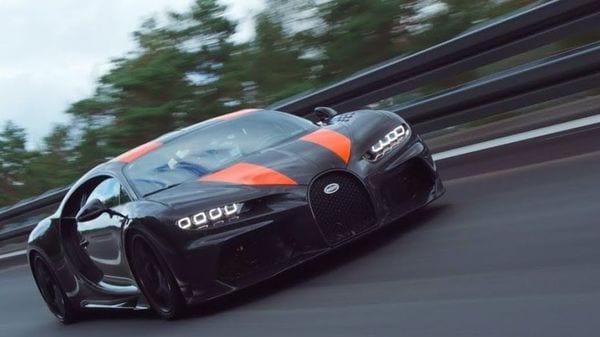 Photo of a Bugatti Chiron Longtail