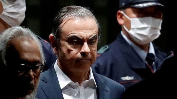 FILE PHOTO: Former Nissan Motor Chariman Carlos Ghosn leaves the Tokyo Detention House in Tokyo, Japan April 25, 2019. REUTERS/Issei Kato/File Photo (REUTERS)