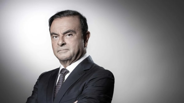 File photo of former Nissan boss Carlos Ghosn