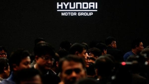 Employees of Hyundai Motor Group leave after the company's new year ceremony in Seoul, South Korea. (REUTERS)