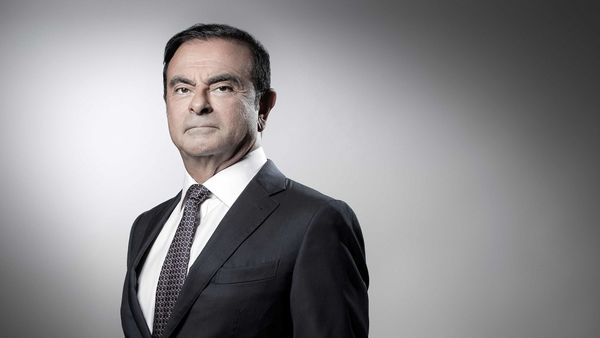 (FILES) In this file photo taken on September 12, 2018 then French Renault group CEO and chairman of Japan's Nissan Motor CO. Ltd and Mitsubishi Motors Corp, Carlos Ghosn poses during a photo session at the Renault headquarters in Boulogne-Billancourt. - France 'will not extradite' Carlos Ghosn if the former Nissan boss, who fled Japan to avoid a trial and who has French citizenship, arrived in the country, junior economy minister Agnes Pannier-Runacher said on January 2, 2019. (Photo by JOEL SAGET / AFP) (AFP)