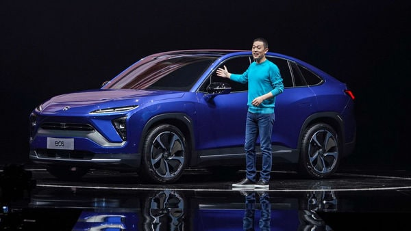 NIO unveils its first electric coupe SUV - the EC6 (Photo courtesy: @NIOGlobal)