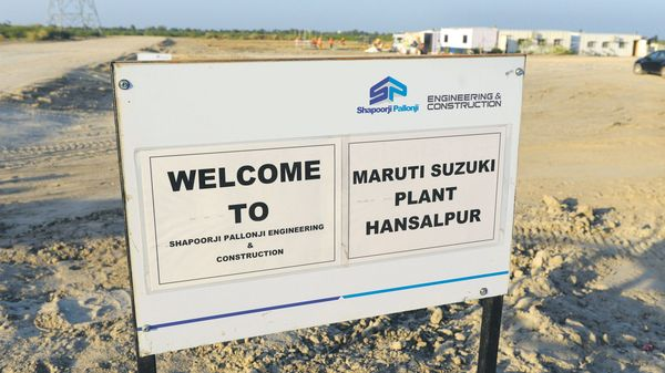 The project at the Suzuki plant in Hansalpur, Gujarat, is expected to provide employment to about 1,000 people by 2025. afp