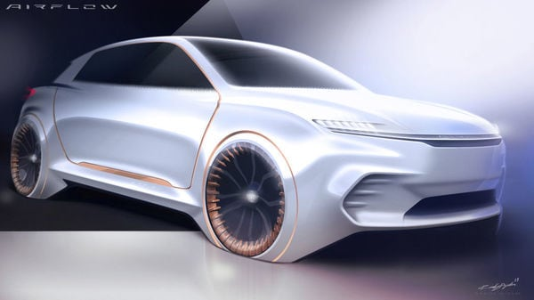Chrysler gives a sneak peek into its Airflow Vision concept ahead of CES 2020