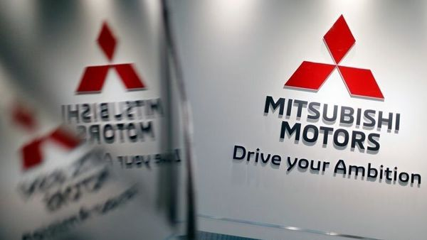 FILE PHOTO: The logo of Mitsubishi Motors Corp is displayed at the company's showroom in Tokyo, (REUTERS)