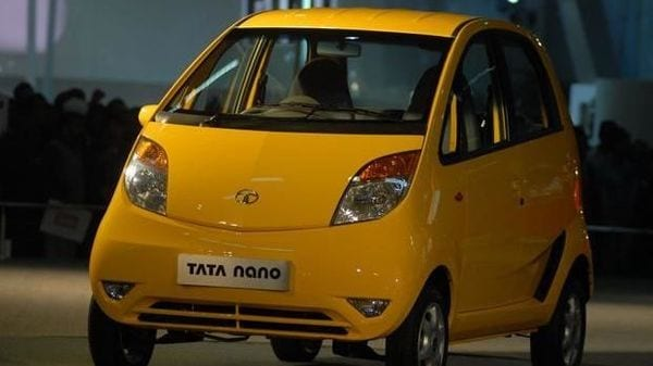 File photo of Tata Nano