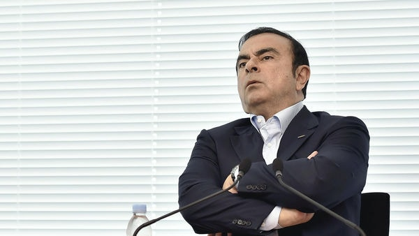 FILE: Former Nissan Motor Co. Chairman Carlos Ghosn speaks during a joint interview in Yokohama City, Kanagawa Prefecture on May 13, 2016. ( The Yomiuri Shimbun )