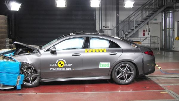 Mercedes-Benz CLA achieved a score of more than 90 percent in three of the four areas of safety and delivered the best overall rating of the year. (Photo courtesy: euroncap.com)